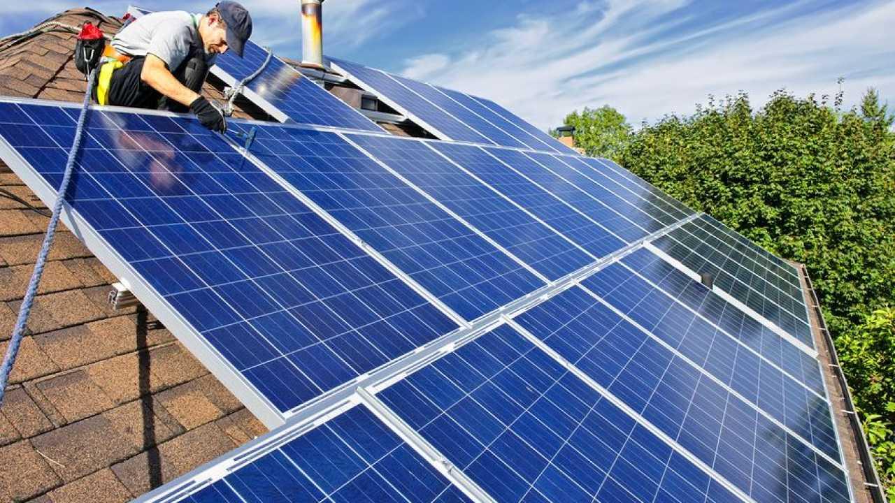 solar panels in Scone